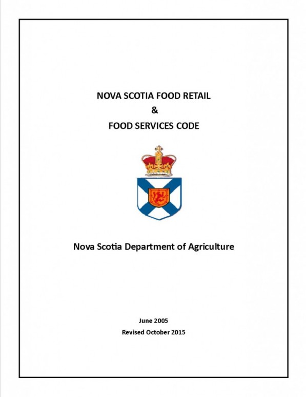 Publication1 food code re food on site